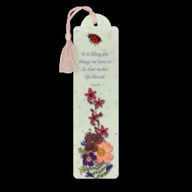 Ladybug Bookmark Image