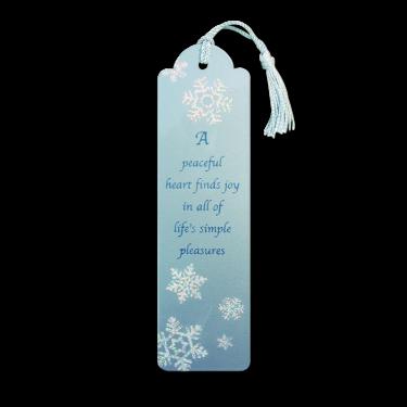 Snowflakes Bookmark Image
