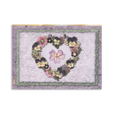 Viola Heart Note Cards Image