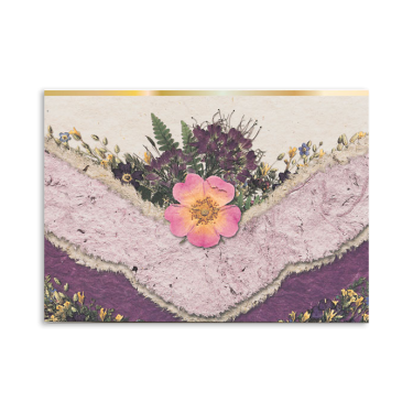 Single Wild Rose Note Cards Image