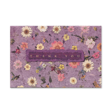 Mixed Wildflower Thank You Cards Image