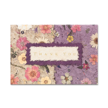 Mixed Garden Thank You Cards Image