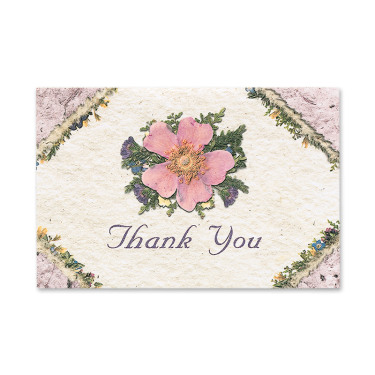 Wild Rose Thank You Cards Image
