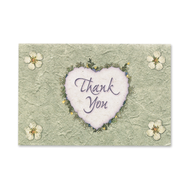 Sweet Marguerite Blossom Thank You Cards Image