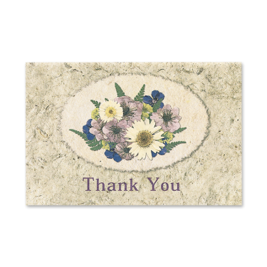 Delicate Daisy Cameo Thank You Cards Image