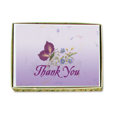 Butterfly Thank You Cards Image