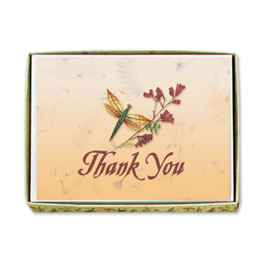 Dragonfly Thank You Cards Image