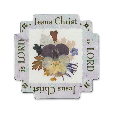 Jesus Christ is Lord Scripture Magnet Image