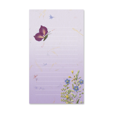 Butterfly Garden Dweller Mini Notepad Image