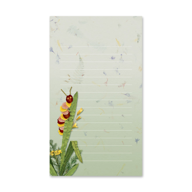 Caterpillar Garden Dweller Mini Notepad Image