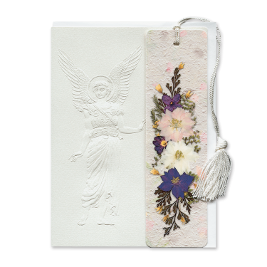 Classic Angel Bookmark Gift Card Image