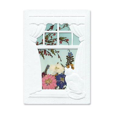 Cat in the Window Card Image