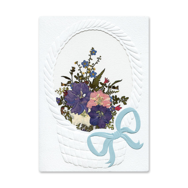 Floral Basket Card Image