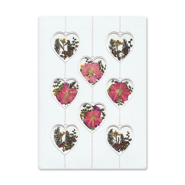 Filled Hearts Card Image