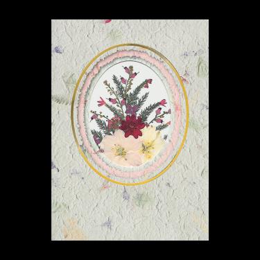 Red Verbena Card Image