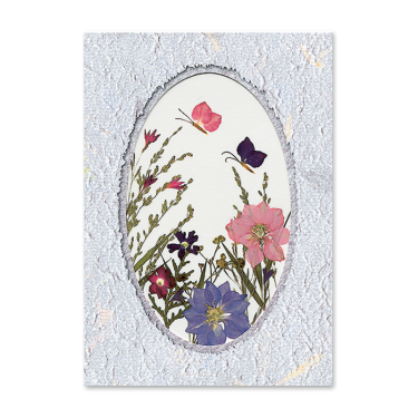 Floating Butterflies Card Image