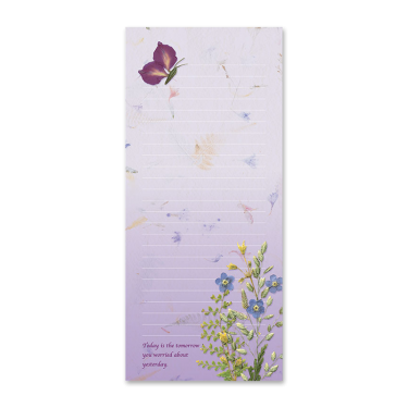 Butterfly Garden Dweller Notepad Photo