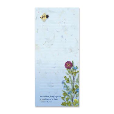 Bumble Bee Garden Dweller Notepad Image