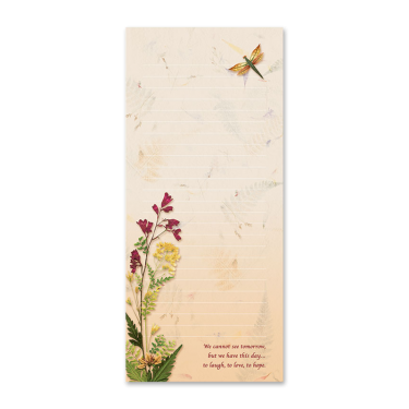Dragonfly Garden Dweller Notepad Image
