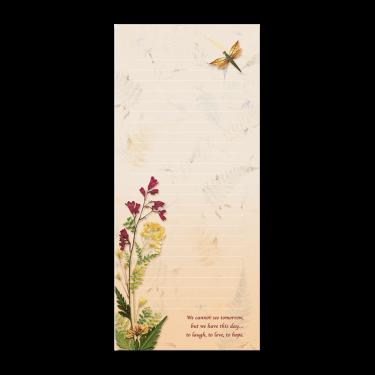 Dragonfly Garden Dweller Notepad Image