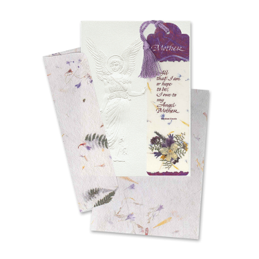 Image of Mother's Day Angel Card with Bookmark