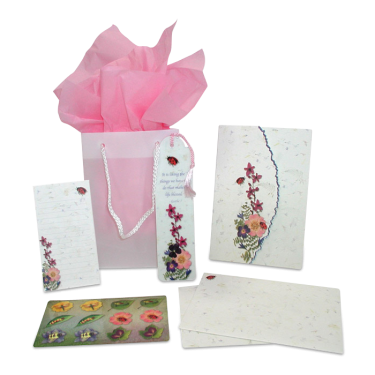 Ladybug Garden Dweller Stationery Gift Set Image