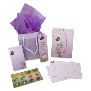 Butterfly Garden Dweller Stationery Gift Set Image