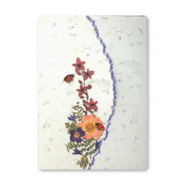 Ladybug Garden Dweller Stationery Image