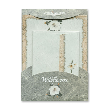 Larkspur Blossom Wildflower Premium Stationery Image