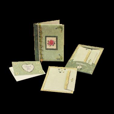 Wildflower Green Journal Gift Set Image