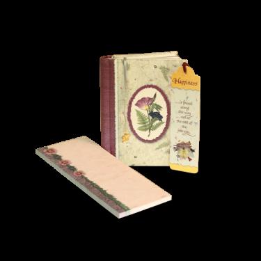 "Wildflower ""Happiness"" Journal Gift Set Image"