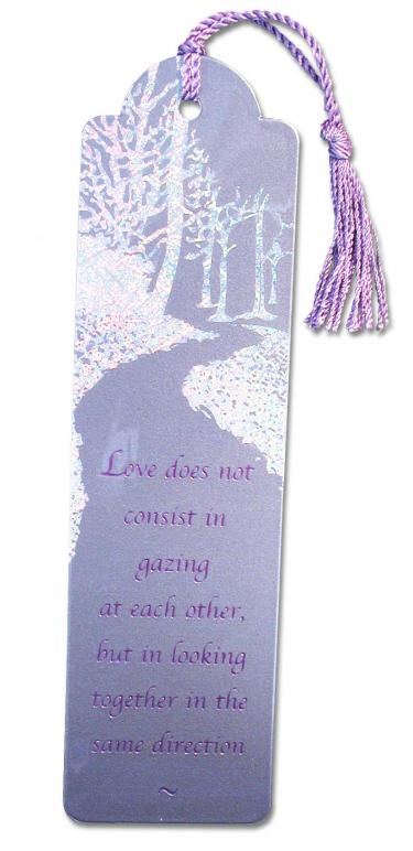 The Path Metallic Bookmark