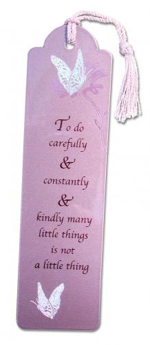 Butterfly Metallic Bookmark