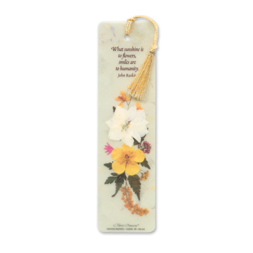 What Sunshine is to Flowers Bookmark Image