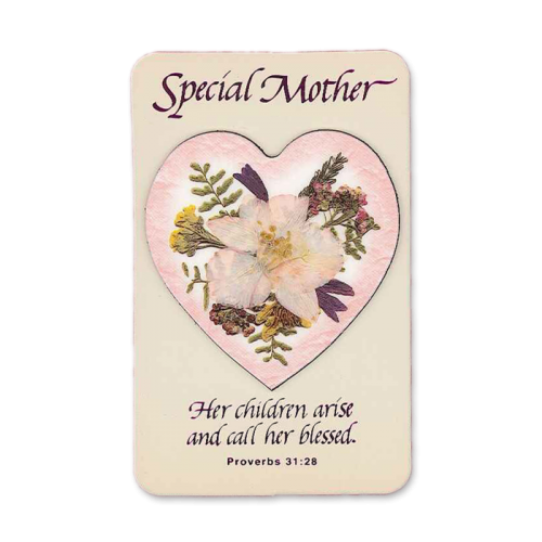 Mother's Day Specialty Keepsake Magnet & Gift Card Image