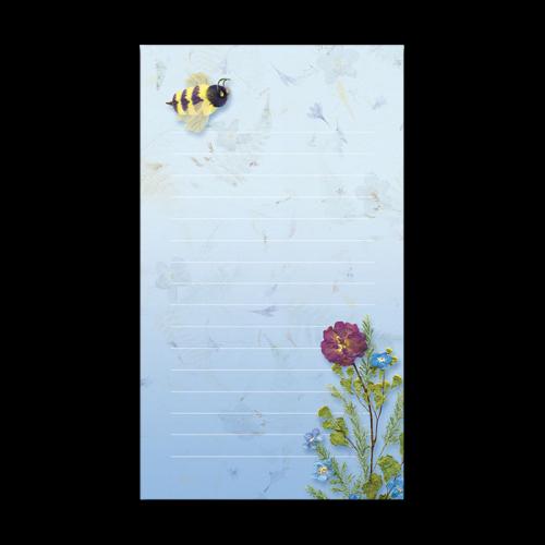 Bumble Bee Garden Dweller Mini Notepad Photos