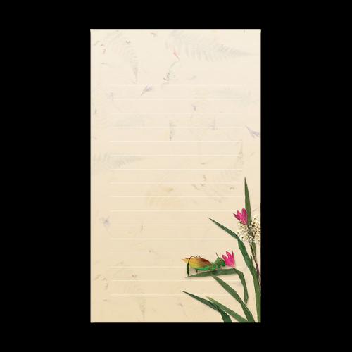 Cricket Garden Dweller Mini Notepad Image
