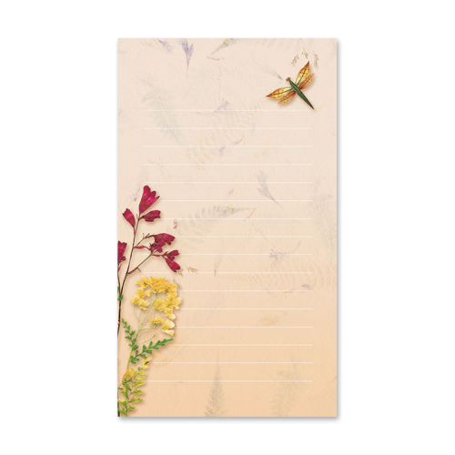 Dragonfly Garden Dweller Mini Notepad Image