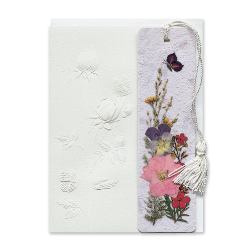 Rosebud Bookmark Gift Card Image
