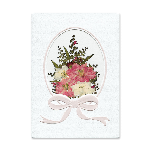Pink Bouquet Card Image