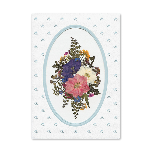 Larkspur Medallion Card Image