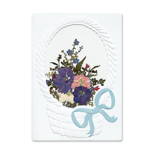 Floral Basket Card Image
