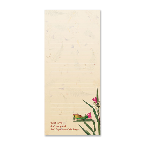 Cricket Garden Dweller Notepad Image