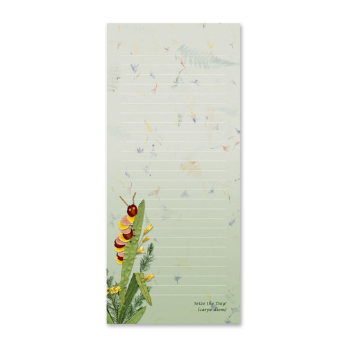 Caterpillar Garden Dweller Notepad Image