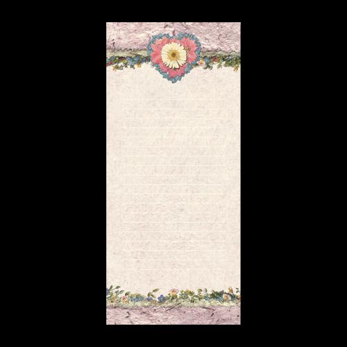 Daisy Heart Notepad Image