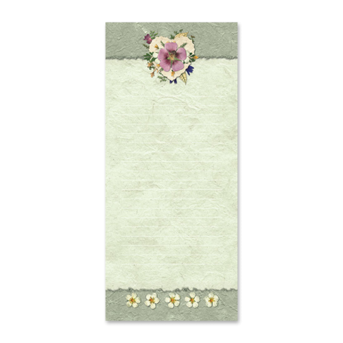 Strawberry Blossom Notepad Image