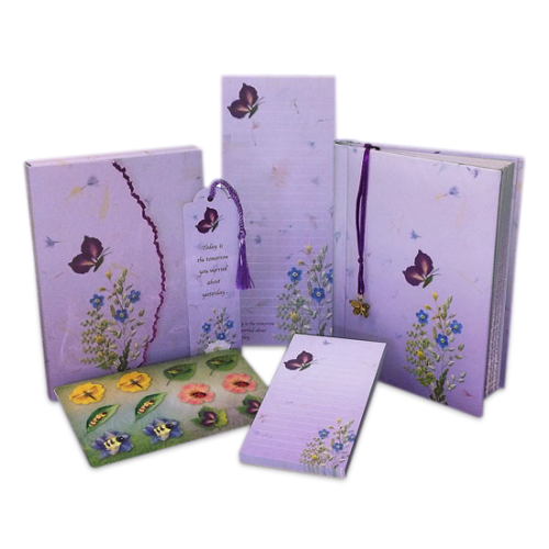 Deluxe Butterfly Stationery Gift Set Image