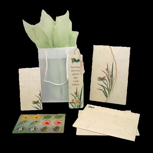 Cricket Garden Dweller Stationery Gift Set Image