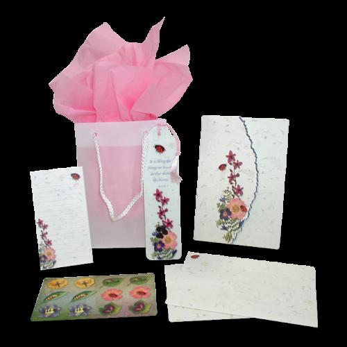 Ladybug Garden Dweller Stationery Gift Set Image
