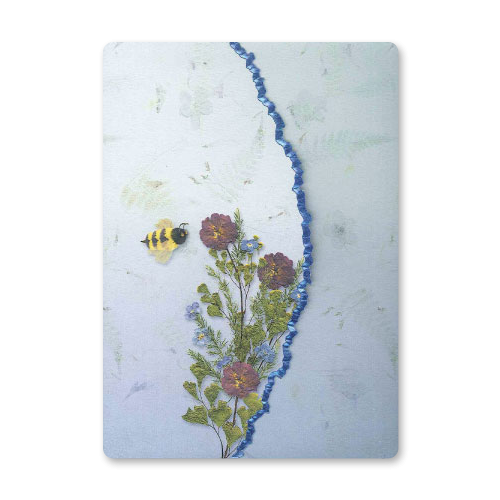 Bumble Bee Garden Dweller Stationery Image